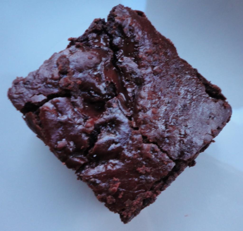 brownie close up
