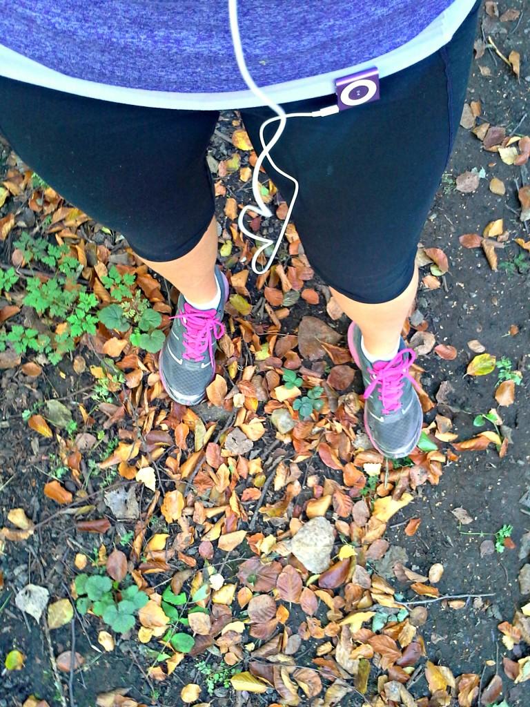 Running in Fall