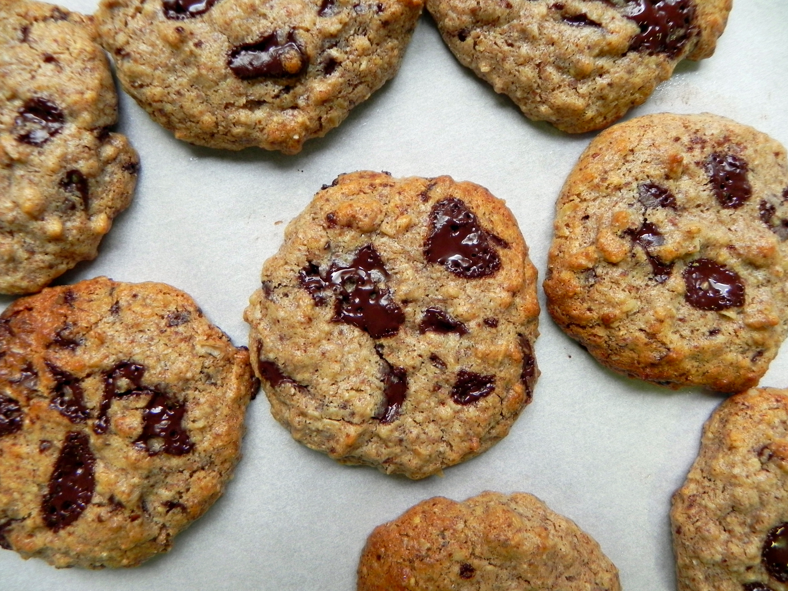 Almond-Butter-Chocolate-Chip-Cookies-@cearaskitchen-glutenfree-vegan ...