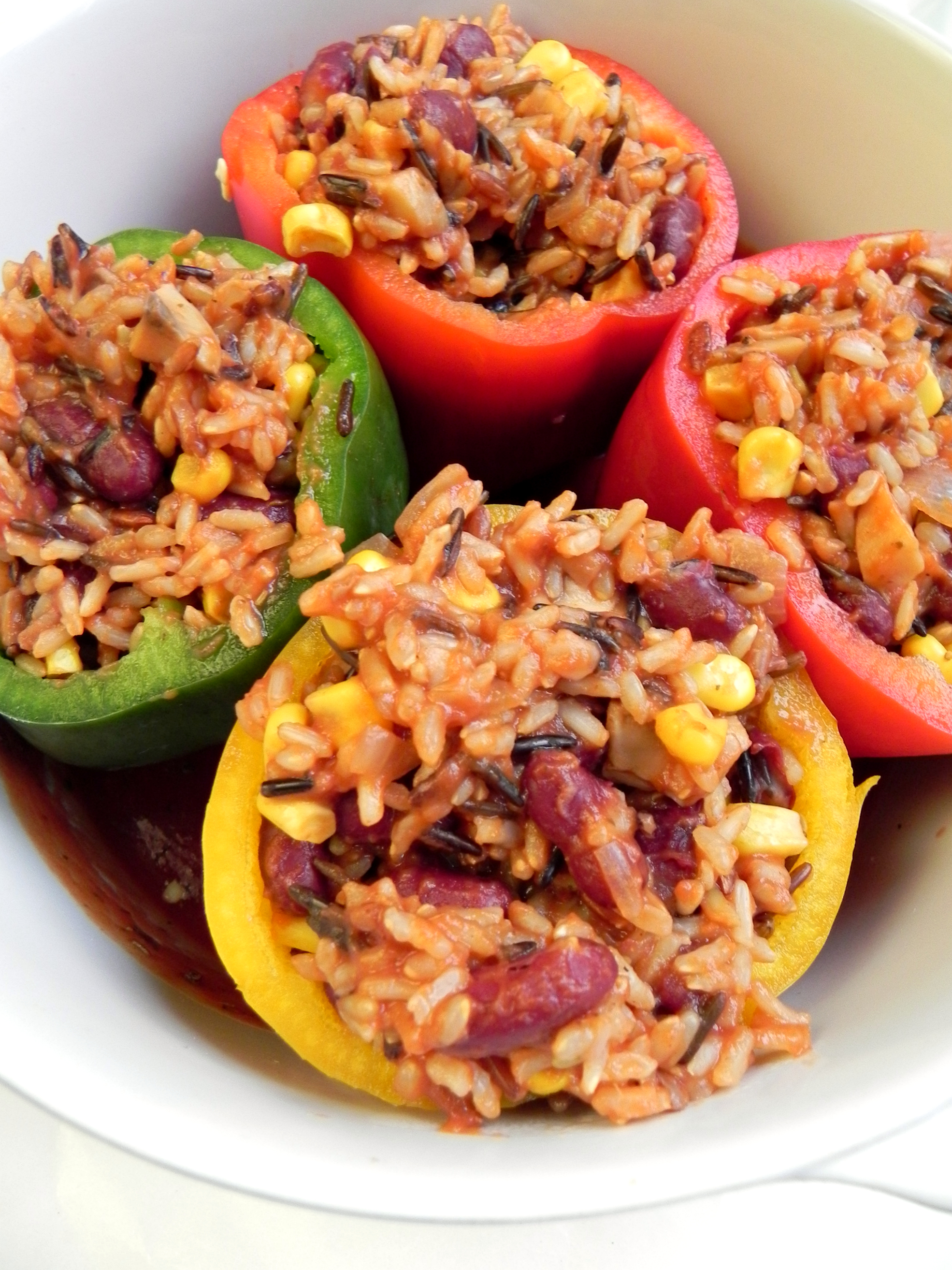 And if you do make these Vegan Stuffed Peppers or any other recipes ...