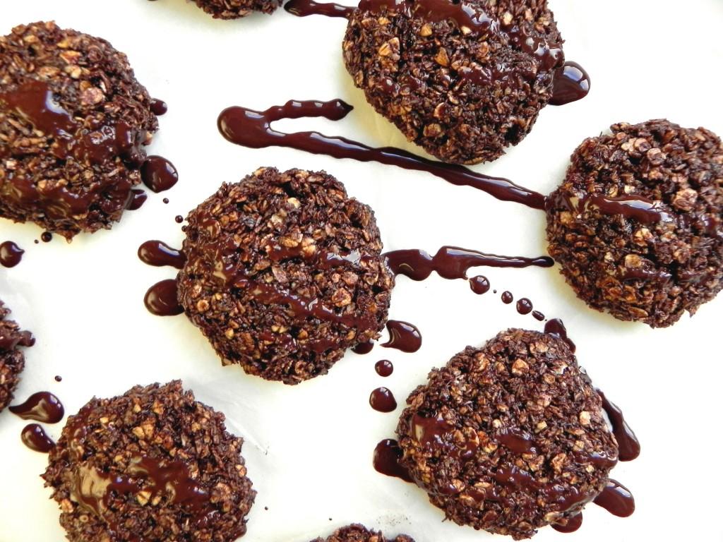 bake chocolate coconut
