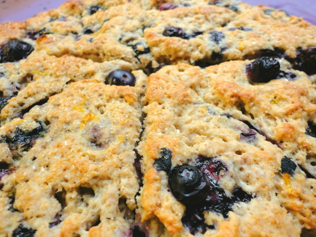 Vegan Lemon Blueberry Scones - Ceara's Kitchen