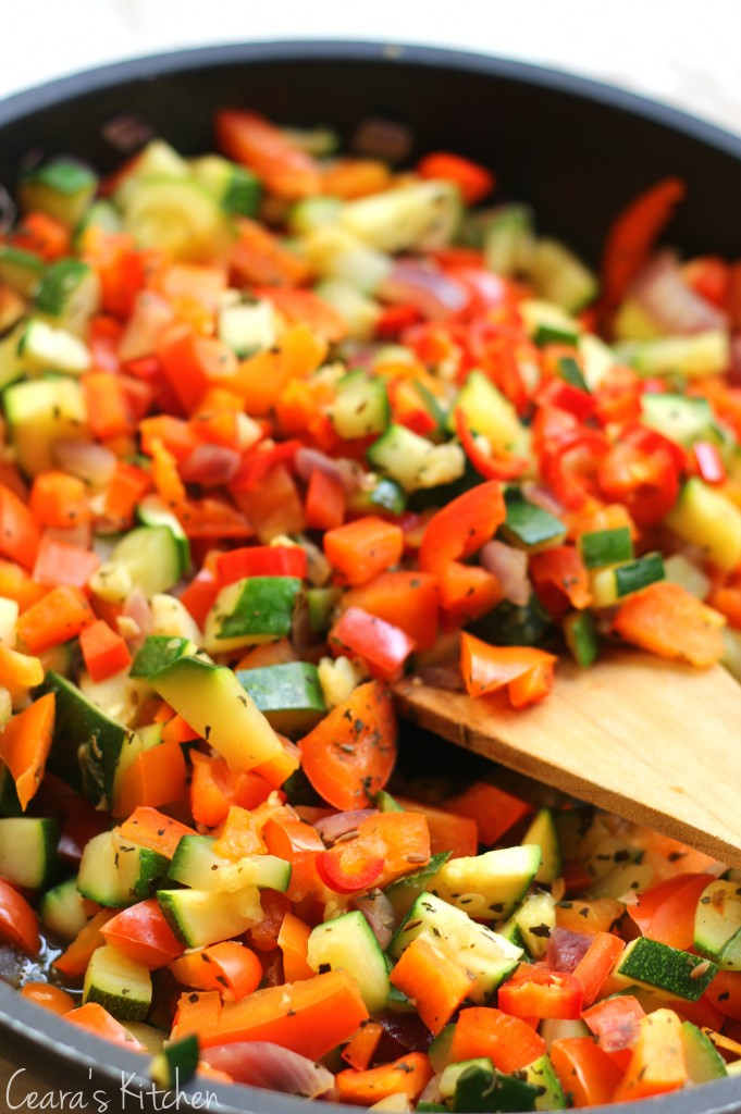 Spring Vegetable Couscous Stir Fry