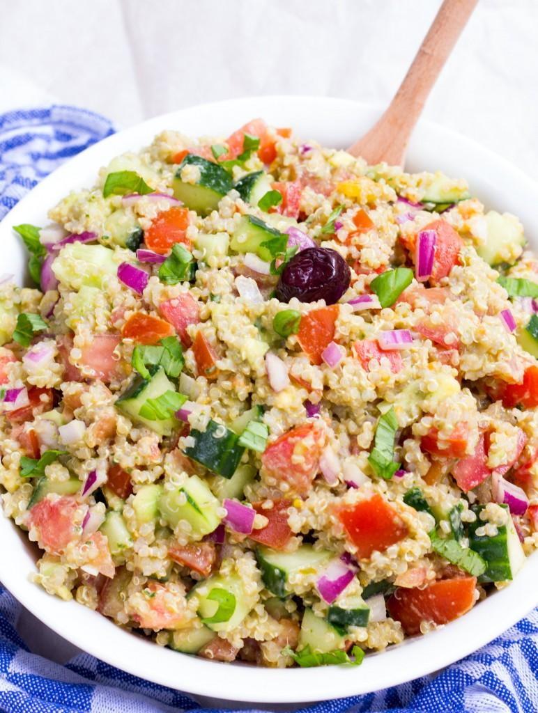 Quinoa With Roasted Tomatoes, Avocado, And Pesto Recipes — Dishmaps