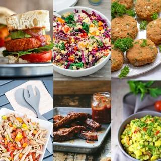 Healthy Vegan BBQ Round Up