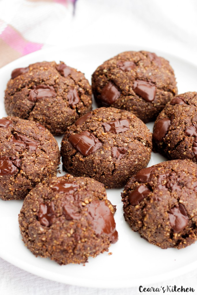Vegan Nutella Cookies Gluten Free
