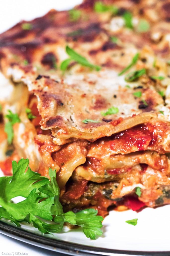 Vegan Lasagna | Ceara's Kitchen