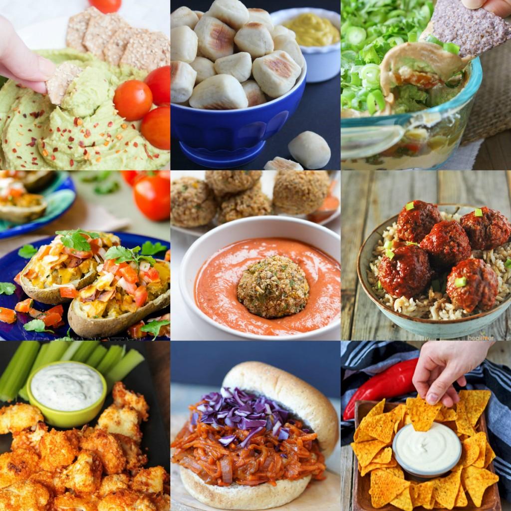 35+ Vegan Super Bowl Recipes