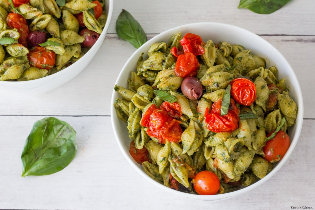 vegan avocado pesto pasta ceara s kitchen