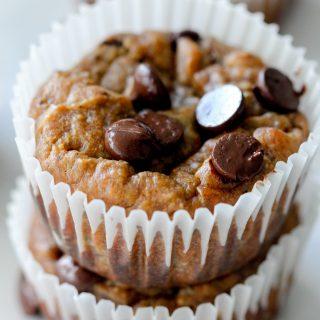 Flourless Vegan Peanut Butter Muffins