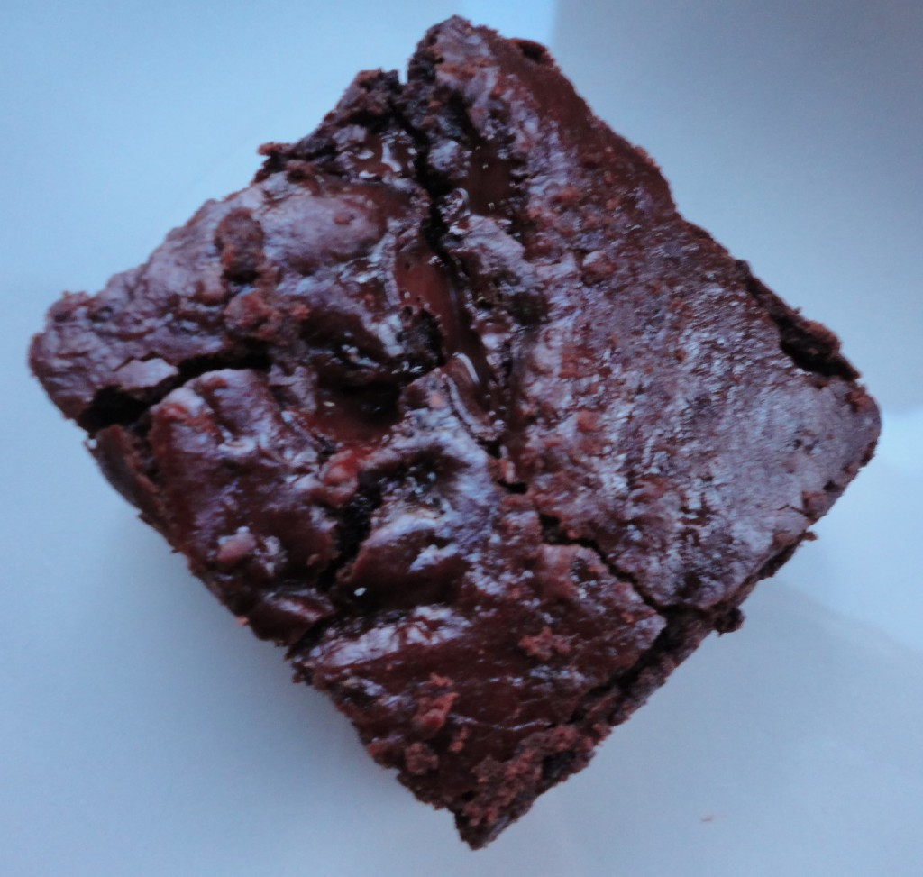 brownie close up