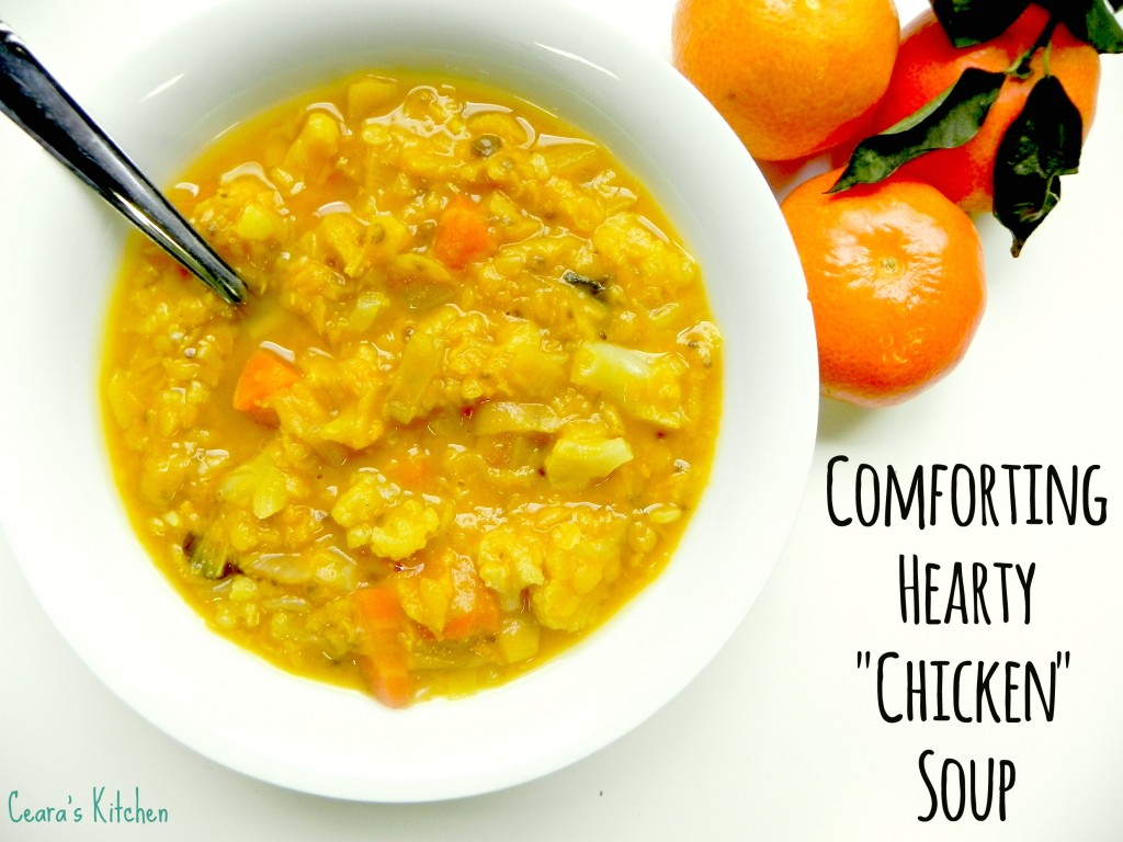 comforting hearty chickensoup2