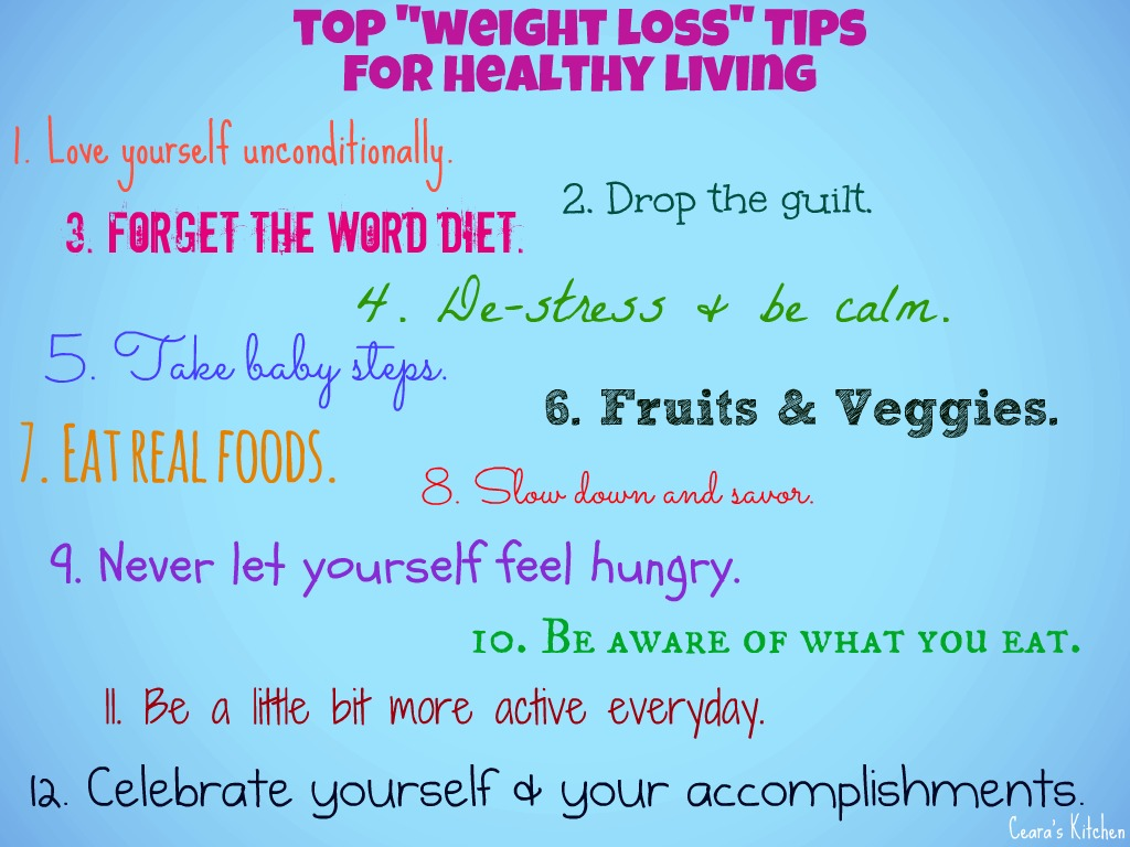 helpful tips for weight loss