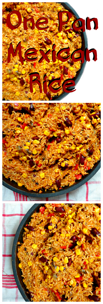 One pan mexican rice ceara's kitchen pinterest