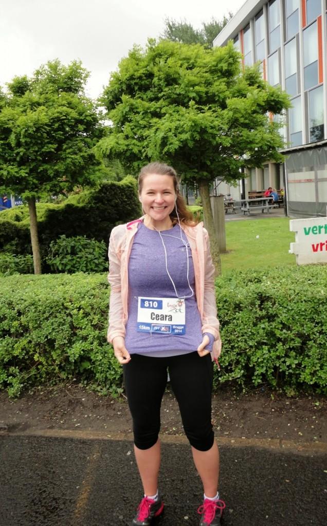 15 km run