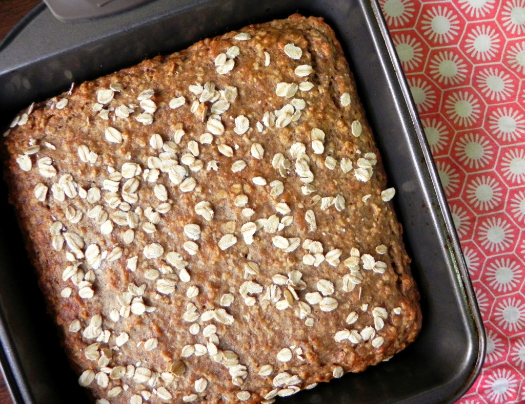 Vegan Banana Oat Bread