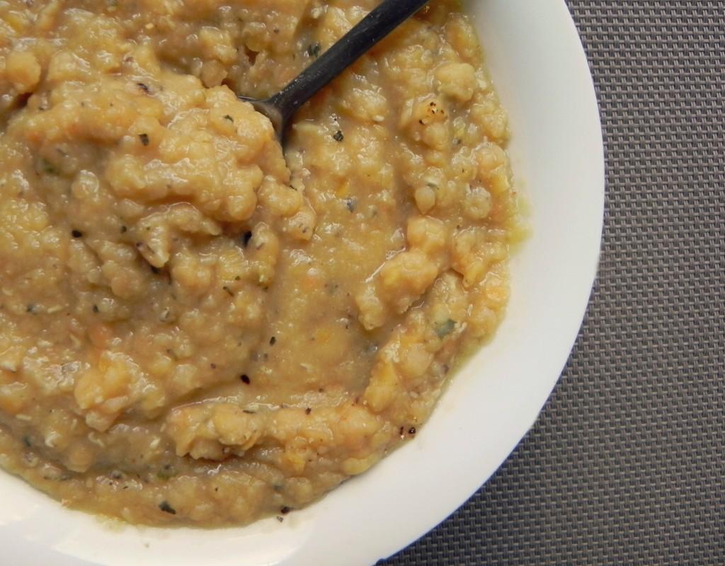 lentil mash is