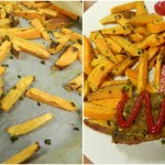 Dinner and Sweet Potato Fries