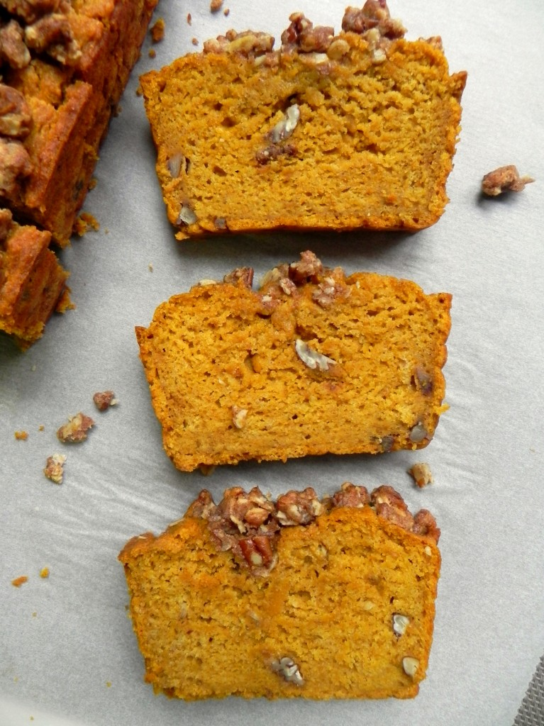 Pecan Pumpkin Bread with Pecan Crumble Ceara's Kitchen