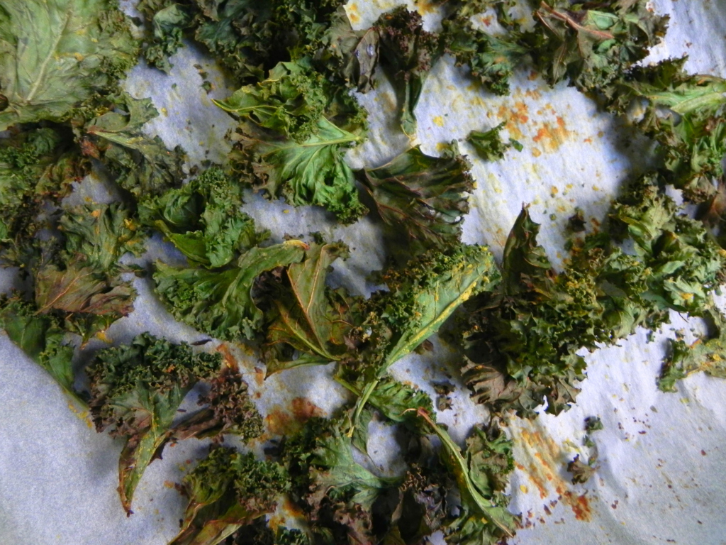 kale chips are