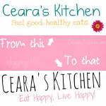 Ceara's Kitchen blogging 101 branding from this to that