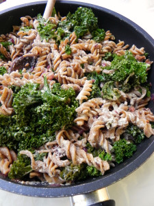 Kale Pasta Ceara's Kitchen