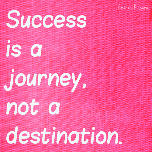 success is a journey not a destination essay Success is a journey, not a destination the doing is often more important than the outcome arthur ashe.