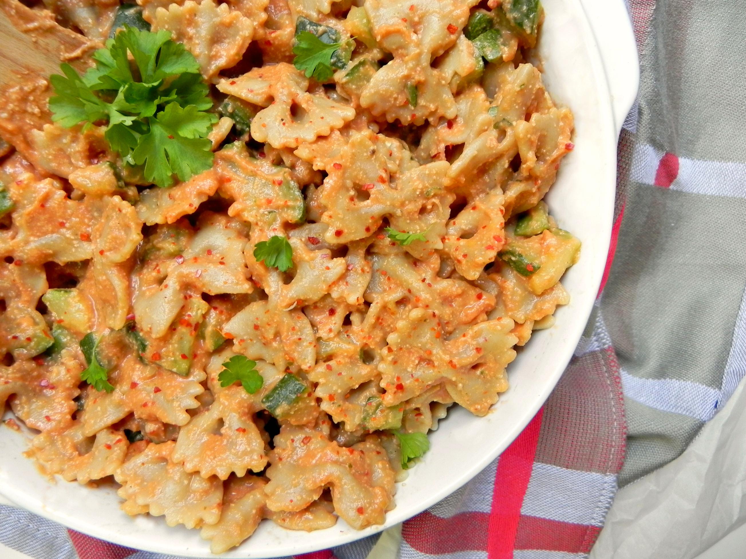 Healthy vegan rose sauce gf ceara 39 s kitchen for V kitchen restaurant vegetarian food