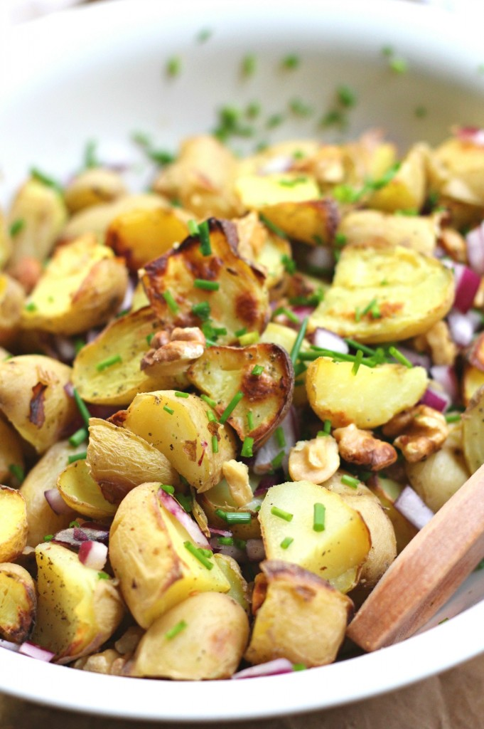 potato pesto salad
