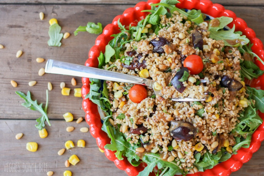 summer-vegetable-steel-cut-oats-salad-miso-balsamic-dressing-41