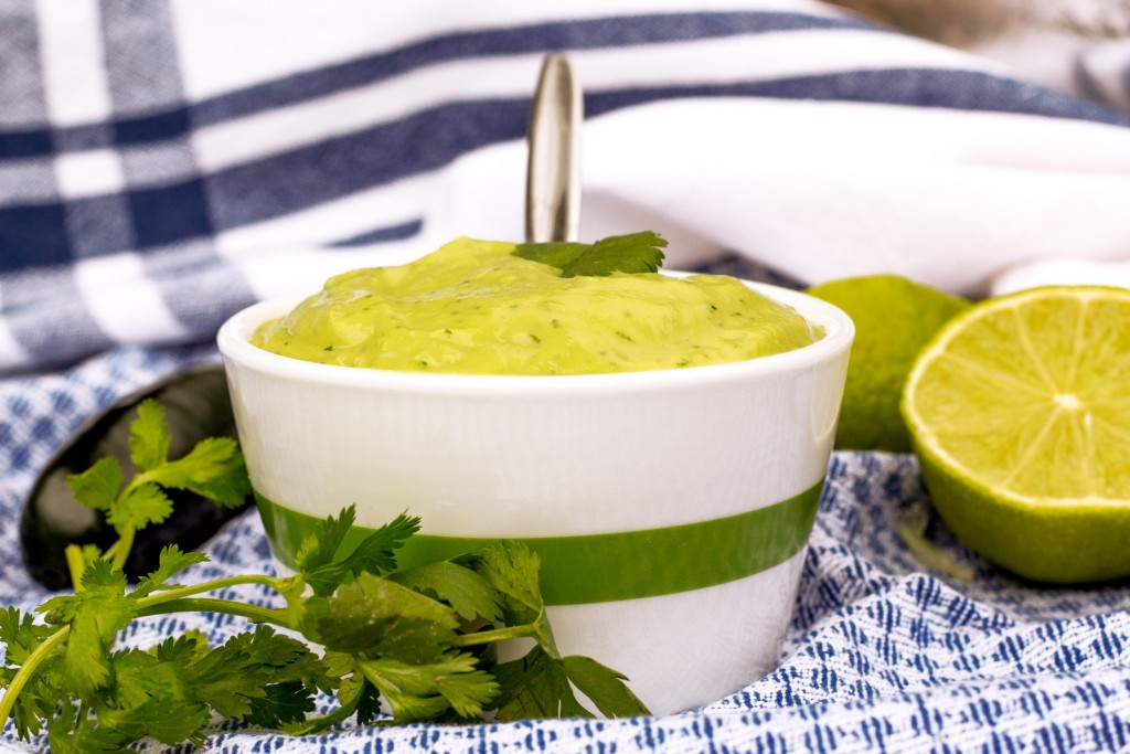 Creamy Zesty Avocado Dressing Vegan Healthy Gluten Free recipe