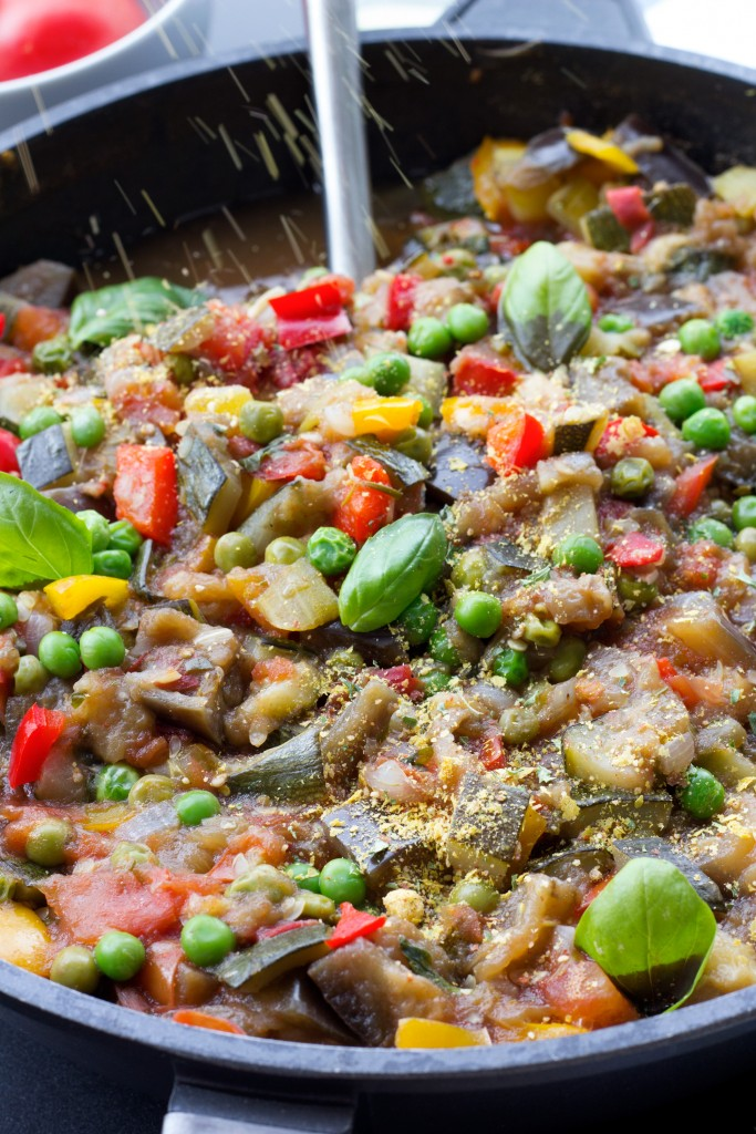 Gluten Free Vegan Healthy Summer Ratatouille
