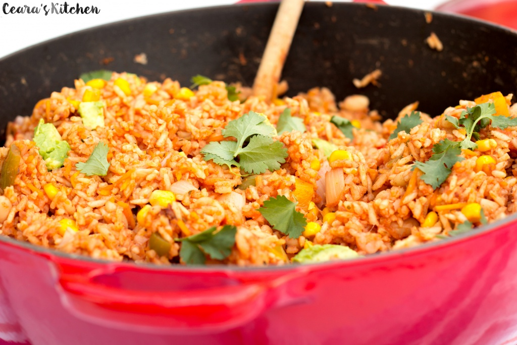 pot mexican rice