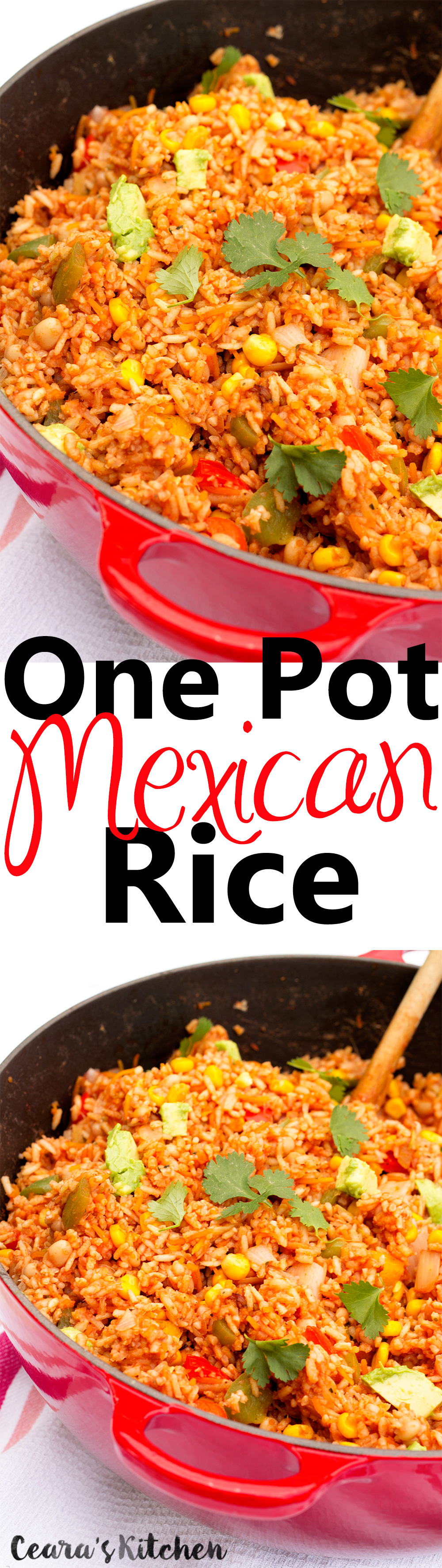 Easy One Pot Mexican Rice Vegan Gluten Free recipe