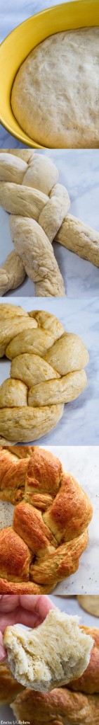 Vegan Braided Holiday Bread
