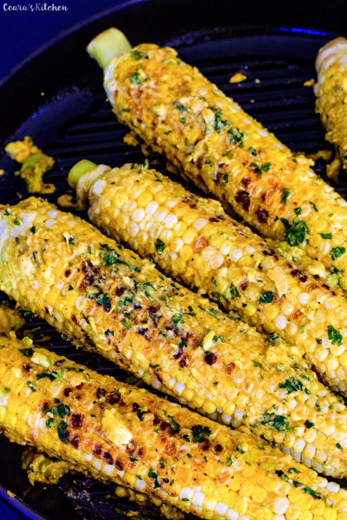 vegan mexican corn on the cob