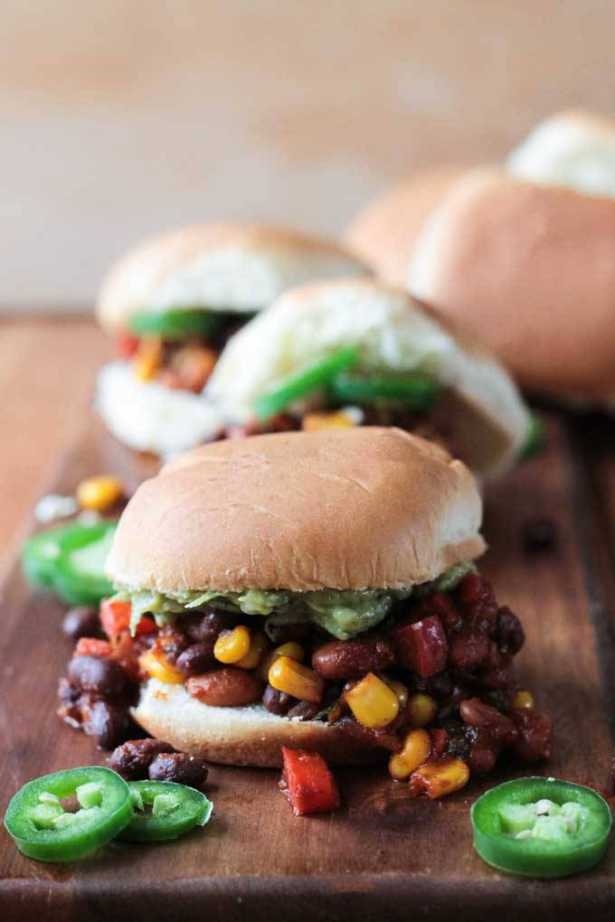 Meatless-Mexican-Sloppy-Joes