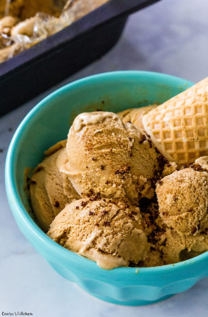 Dairy-Free Coffee Ice Cream