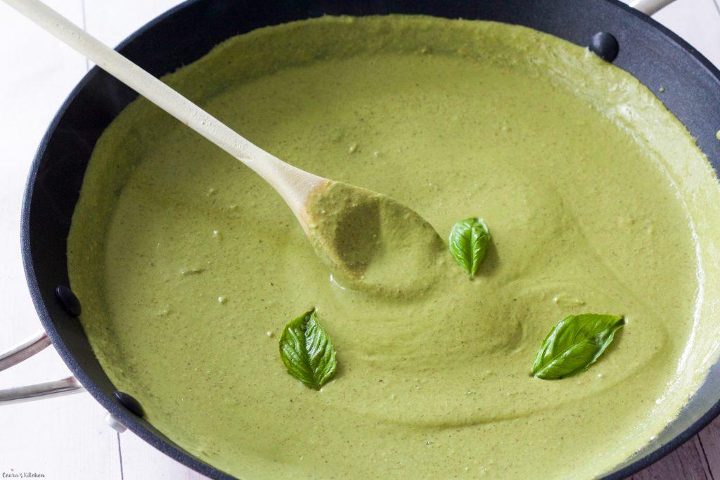 Vegan Creamy Pesto