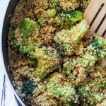 Vegan One Pot Broccoli Quinoa