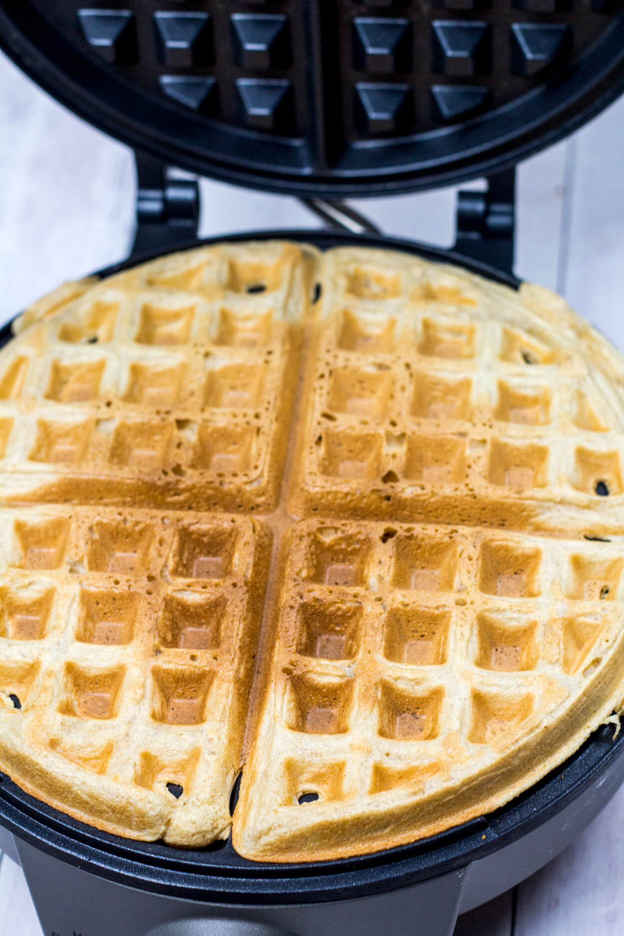 whole wheat oatmeal waffles