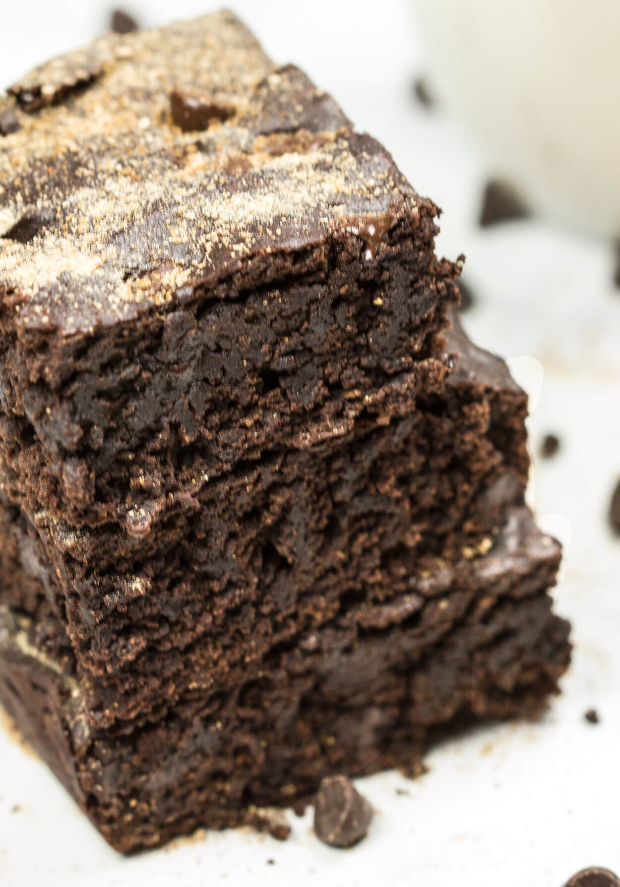 chocolate vegan brownies